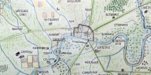 Hand-Drawn Maps: Anglo-Saxon London