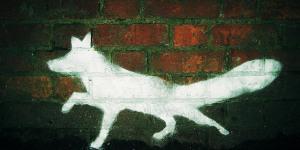London Street Art Guide: 7. Fox Graffiti