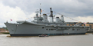 HMS Ark Royal To Become London Heliport?