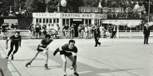 Photo of the Day: Skating at Battersea Park, c.1958