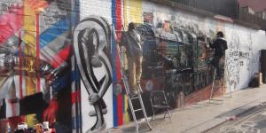 Street Art: New Mural For Former Banksy Wall