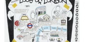 Hand-Drawn London: Maps Exhibition Opens