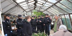 Police Raid Squats Across London