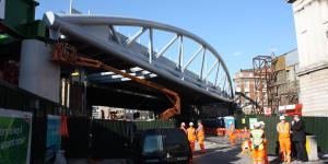 In Pictures: New Thameslink Railway Bridge