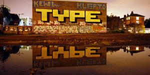 London Street Art Guide: 8. TYPE
