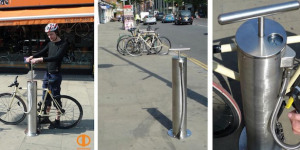 Communal Bike Pumps Installed In London