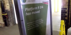 Hogwarts Pupils Confounded By Moving Platform At King's Cross