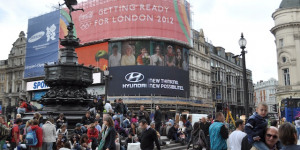 Piccadilly Circus Gets New High-Profile Advertiser