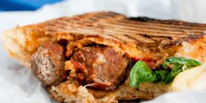 Sandwichist - Meatball Sandwich At Luca, Dalston