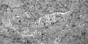 Stephen Walter's Incredible London Maps At Fenton House