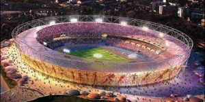 Watch A Celebrity Relay At The Olympic Stadium