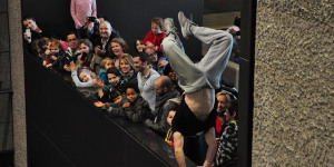 In Pictures: Parkour @ Barbican Weekender