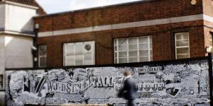 London Artists: Vic Lee's Walthamstow Mural