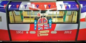 Jubilee Trains Get Jubilee Makeover For Jubilee