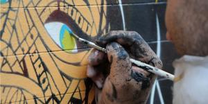 Street Art: Amy Winehouse By Otto Schade