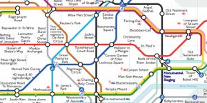 Alternative Tube Maps: Biblical Underground