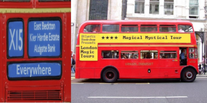Take A Bus Tour Of London's Mystic Sites...In A Pub