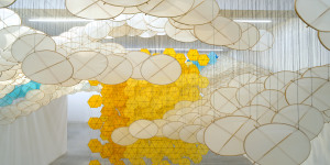 Art Review: Jacob Hashimoto - The Other Sun @ Ronchini Gallery