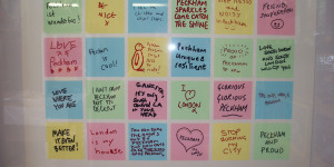 The Peckham Peace Wall, One Year On