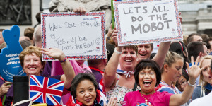 Team GB Olympic And Paralympic Parade Part 2: The Crowds