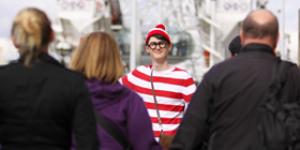 Where's Wally Lights Up The London Eye