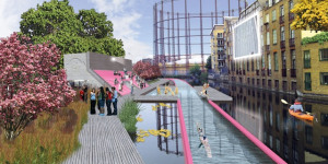 Swim To Work: New Pictures Of 'Lido Line' Emerge