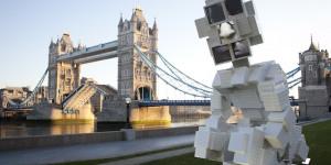 Giant Toilet Sculpture Appears Near Tower Bridge