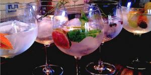 Santa's Lap: London Gin Club Tasting Menu