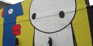 Street Art: Stik And Thierry Noir Paint Up Village Underground