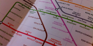 The Underground Map Of Gin