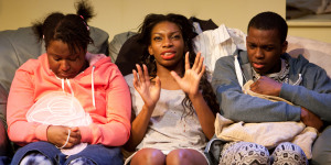 Three Birds At Bush Theatre: Essential New Drama with Chicken-Theft and Turkey Basters