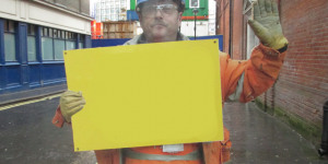 Caption Contest: What's On The Placard?