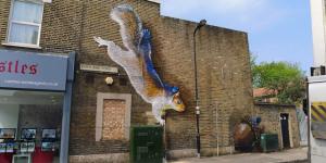 Boe & Irony Spread Urban Animal Street Art Across London