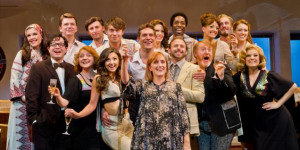 Genius In Reverse: Merrily We Roll Along At Harold Pinter Theatre