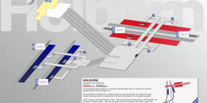 The Innards Of All Central London Tube Stations...Mapped