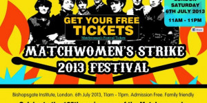 Matchwomen's Festival Celebrates Brave East End Workers