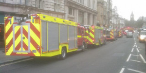 London Lacking 27 Fire Engines Ahead Of Firefighter Strike