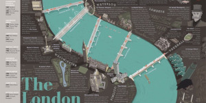 The London Thames: A Great Poster Of A Great River