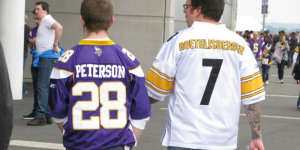 NFL At Wembley: Vikings Tear Down Steelers' Curtain