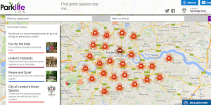 Parklife London: New Web Guide To London's Parks