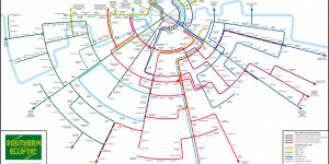 An Alternative Map Of South London Train Routes