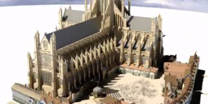 Computer Animation Recreates The Sounds Of Old St Paul's Cathedral