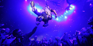 A Sky-High New Year's Eve Celebration With Fuerzabruta
