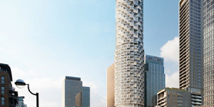 Canary Wharf Goes Cylindrical With Expansion Into Wood Wharf