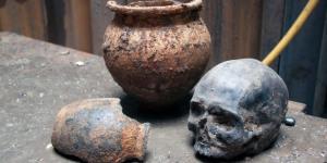 Crossrail Archaeology Exhibition Features Roman Skulls