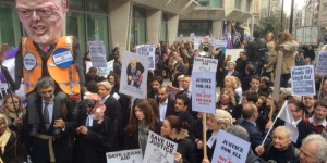 Second Walkout Over Legal Aid Cuts