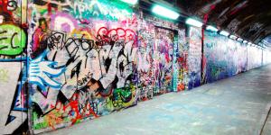 Graffiti Takeover Marks International Women's Day