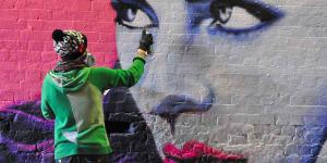 In Photos: Femme Fierce Leake Street Graffiti Takeover