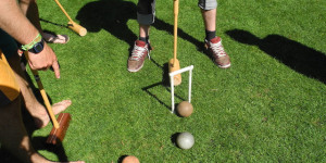 Cross Mallets And Bash Balls With Croquet East