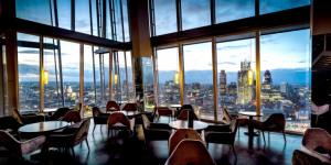 London's Highest-Up Restaurants